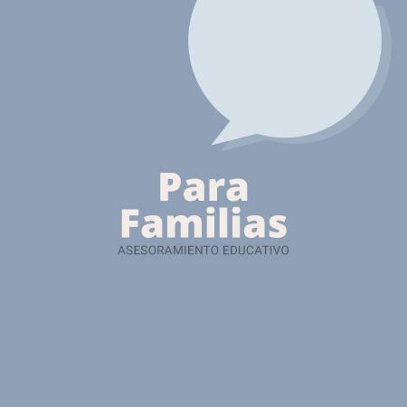 asesoramiento educativo familias